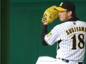 阪神タイガース 杉山投手