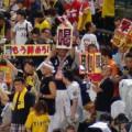 怒る阪神ファン