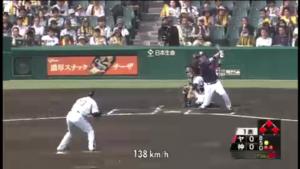 ヤクルト戦榎田打たれる1