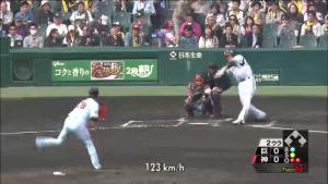 新井良太 2014 巨人戦 ホームラン