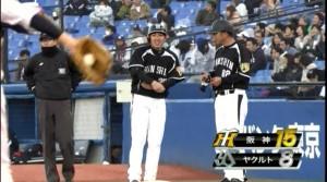 2014年4月6日 阪神 坂 タイムリー
