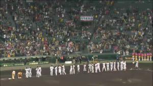 阪神 選手挨拶 甲子園 巨人戦