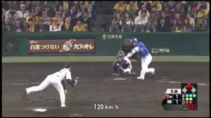 4月 阪神 岩崎 好投