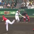 8ウラ 福留決勝ホームラン 広島戦