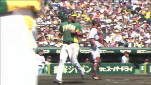2ウラ 阪神鶴岡タイムリー 巨人