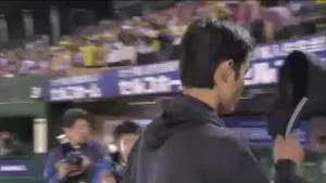藤浪晋太郎 コボスタ お立ち台
