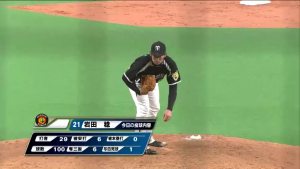 7回岩田好投