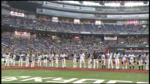 8月19日 阪神 勝利の挨拶