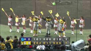 140920 阪神対中日戦 甲子園