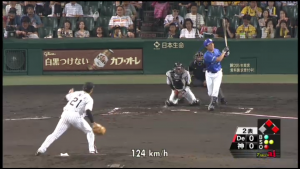9月29日 岩田奪三振