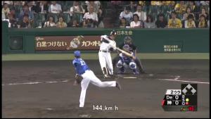 横浜戦ビデオ判定ホームラン福留