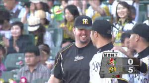 9月14日 阪神広島 試合終了