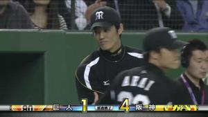 藤浪晋太郎 2014CS 勝ち投手