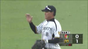 福留の活躍で阪神勝利CS