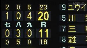 2014年8月ヤクルトバカ試合