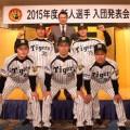 2015 阪神タイガース 新入団選手