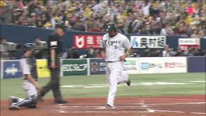 2015 阪神 チーム 初得点は?