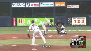 松田遼馬 開幕戦登板 2015