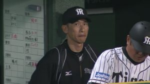 矢野コーチと藤川球児